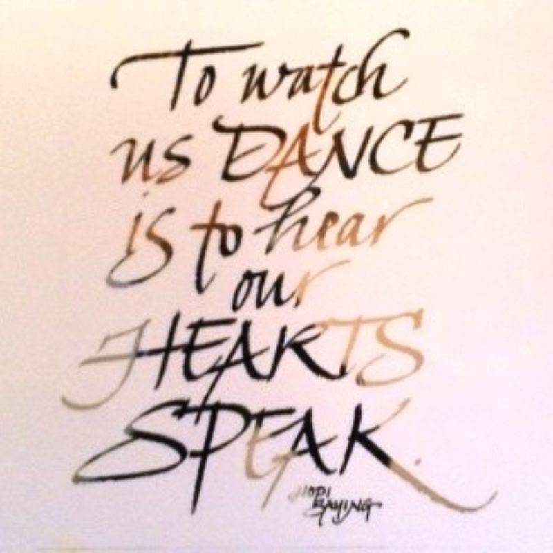 To Hear Our Hearts Speak