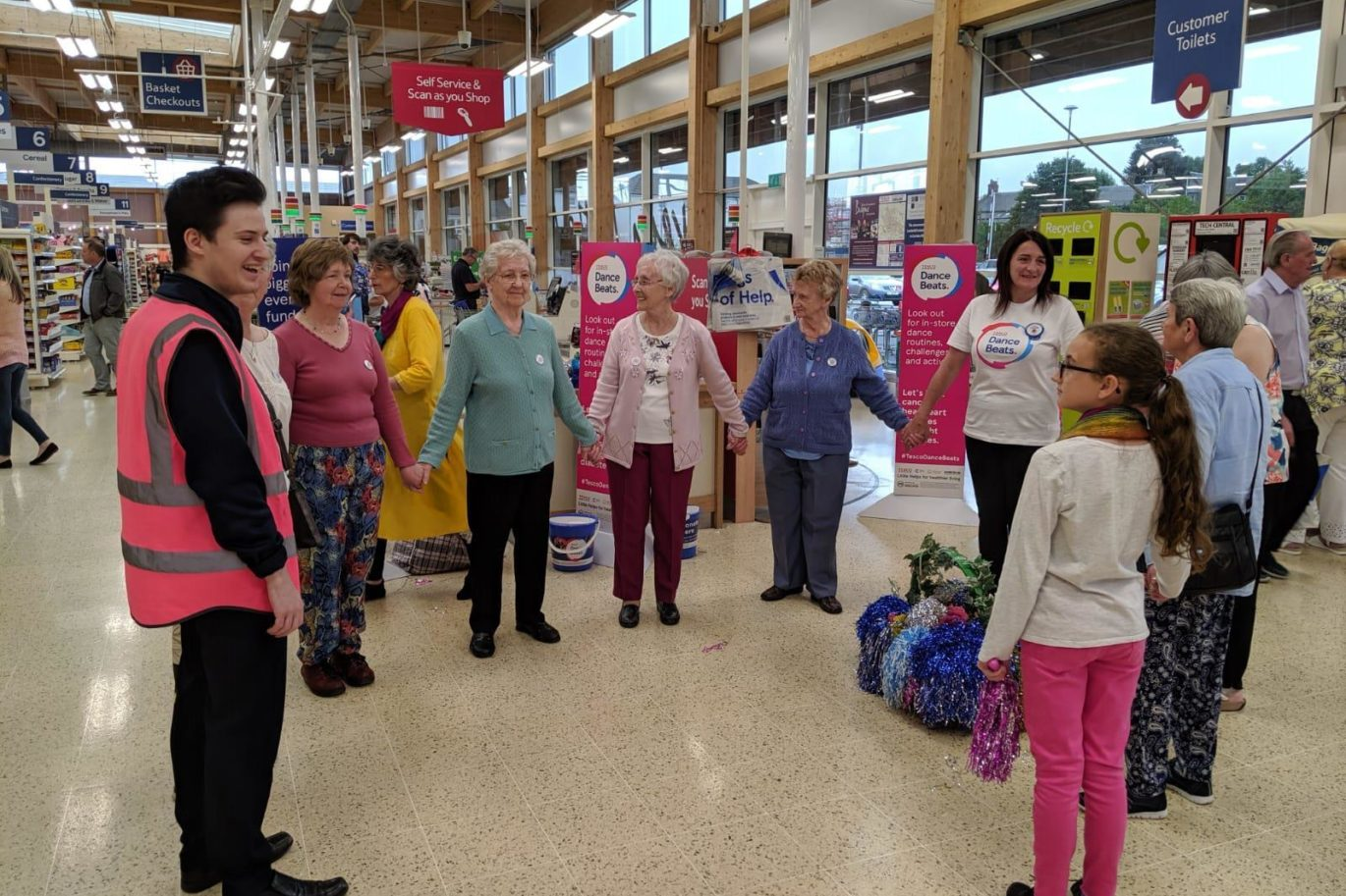 Tesco Dancebeats July 2019 - CDFA took part in the Tesco charity event Dancebeats